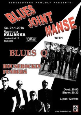 BLUES JOINT MANSE